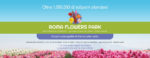 Apre per la prima volta nella capitale il Roma Flowers Park. Appuntamento dal 23 marzo al 5 maggio