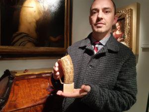 Una coppa in corno dei Templari racconta l'eresia dei Luciferiani. A Padova Antiquaria. Conferenza sui Ciardi, famiglia di artisti veneziani