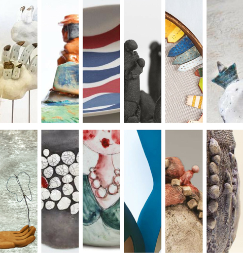 Collettivo donnArgilla presenta la mostra Il Viaggio a cura di Michela Becchis alla Galleria Il Laboratorio di Roma