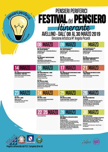 "Al via ""Pensieri Periferici – Festival del pensiero itinerante"""