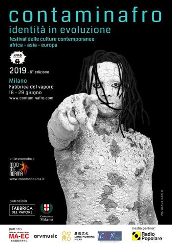 Alla Fabbrica del Vapore di Milano torna Contaminafro, il Festival delle Culture Contemporanee con 12 giorni dedicati alla musica, alla cultura e all'arte