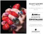 Fuorisalone 2019. ANM Design presenta Crystalexe, una particolare lavorazione del vetro per pavimenti, soffitti e pareti che consente la totale personalizzazione