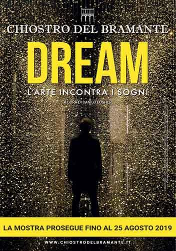 """""""DREAM. L'arte incontra i sogni"""" e Le Sibille di Raffaello al Chiostro del Bramante di Roma"""