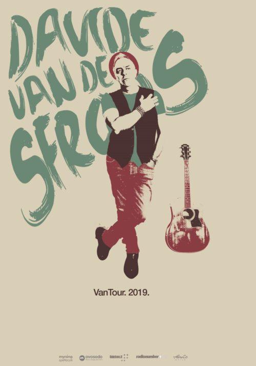 """Davide Van De Sfroos: il nuovo tour """"Vantour 2019"""" si arricchisce di 3 nuovo appuntamenti a Locarno, a Lerici e a Sanremo"""