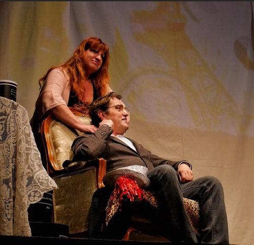 """Emma B. di Enza Li Gioi liberamente tratto da """"Madame Bovary"""" di Gustave Flaubert in scena al Teatro Lo Spazio di Roma"""