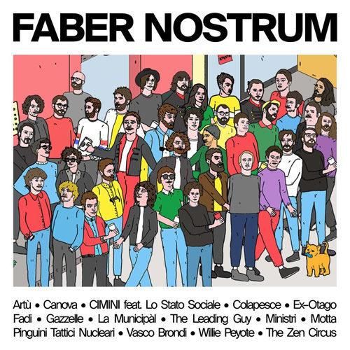 """Faber Nostrum, è uscito """"Verranno a chiederti del nostro amore"""", nella versione speciale di Motta"""