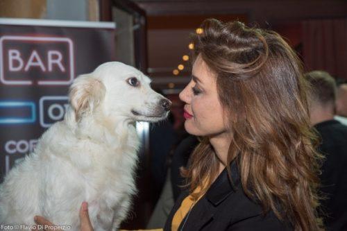"""Enzo Salvi grande debutto al Teatro Tirso de Molina con lo spettacolo """"Io un attore cane"""", dedicato al suo amore per gli animali"""