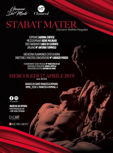 HT Classical mette in scena lo Stabat Mater presso la Basilica di Santa Francesca Romana