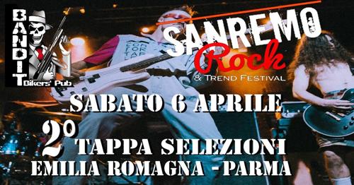 Sanremo Rock & Trend Festival, torna in Emilia-Romagna con la seconda tappa regionale di selezioni 2018/2019