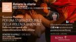 Susanna Mantioni a Grande come una Città: per una storia culturale della violenza di genere