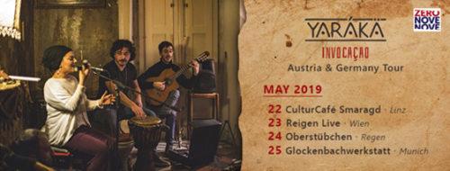"""Gli Yarákä, da Taranto, in tour in Austria e Germania per presentare l'album """"Invocaçao"""""""
