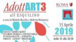 Adottart 3, la mostra a cura di Michela Becchis al Rione Esquilino Roma