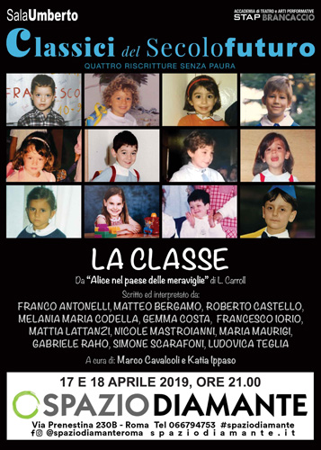 La Classe, lo spettacolo a cura di Marco Cavalcoli e Katia Ippaso in scena al Teatro Spazio Diamante di Roma