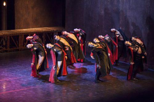 """Balletto di Roma presenta """"Otello"""" coreografie e scene Fabrizio Monteverde musiche Antonio Dvořák in scena al Teatro Quirino di Roma"""