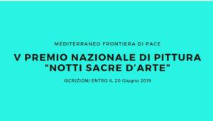 """Bando per artisti. Premio Nazionale di Pittura """"Notti SACRE d'arte"""""""