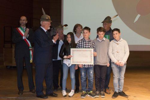 Adunata Alpini Milano, al teatro Dal Verme, gli ambasciatori d'Italia