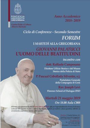 Giovanni Palatucci, l'uomo delle beatitudini. La conferenza presso la Pontificia Università Gregoriana di Roma