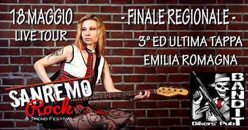 Il 32° Sanremo Rock & Trend Festival fa tappa in Emilia Romagna