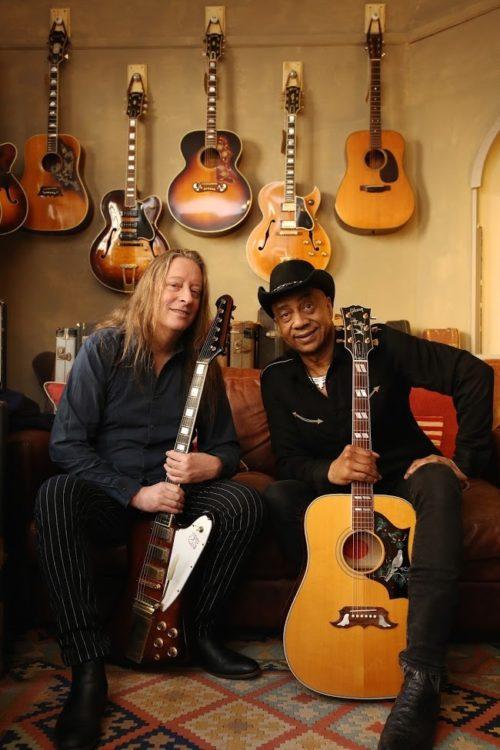 La Blues Cruise nel Delta del Po con Marcus Malone & Innes Sibiun Blues duo