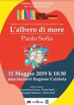 L'albero di more, l'album da solista di Paolo Sofia al Salone del Libro di Torino