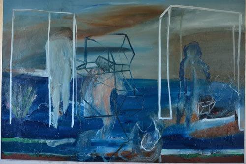 Hic et Nunc. Tempo presente, la mostra con le opere di Marco Angelini, Luca Coser, Maurizio Pierfranceschi e Vincenzo Scolamiero alla Fondamenta Gallery a Roma