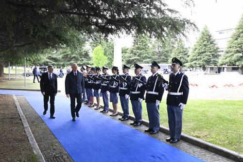 """""""Pretendiamo legalità: a scuola con il Commissario Mascherpa"""" fa capolinea a Spoleto. Il Capo della Polizia premia i vincitori"""
