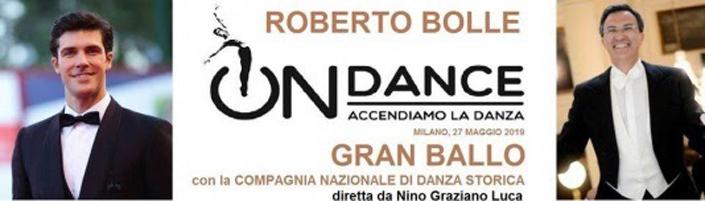 Roberto Bolle con la Compagnia Nazionale di Danza Storica a On Dance