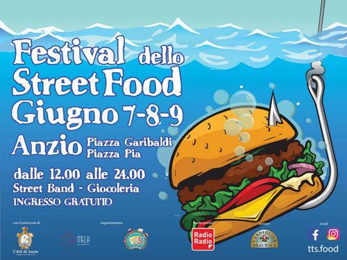 Anzio Capitale Street Food. Appuntamento il 7, 8 e 9 giugno