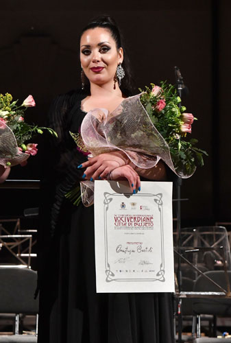 Festival Verdi: Anastasia Bartoli accanto a Leo Nucci nel Gala Verdiano, il soprano sostituisce Irina Lungu