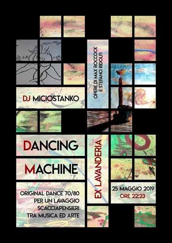 Dancing Machine alla Ex Lavanderia di Roma tra musica e arte