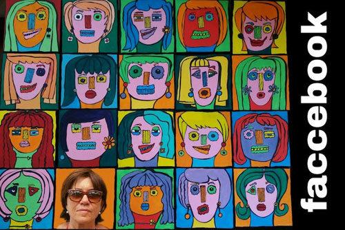Faccebook, la mostra personale di Emanuela Fabozzi alla Galleria Frammenti d'Arte Roma di Roma