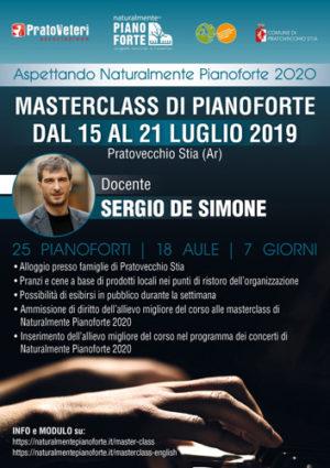 Ad Aspettando Naturalmente Pianoforte tre importanti Masterclass di pianoforte con i M° Brustia, De Simone e Rivera
