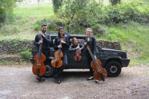 A San Vitale il quartetto di viole da gamba Consorteria delle Tenebre