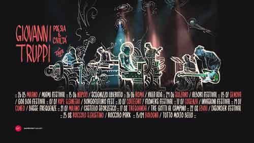 """Giovanni Truppi, si aggiungono due date al tour estivo di """"Poesia e civiltà"""" a Latina e a Telese Terme"""