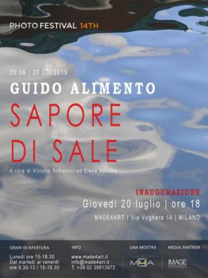 Sapore di sale, la mostra di Guido Alimento allo spazio MADE4ART di Milano