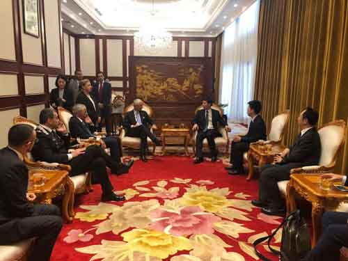 Italia-Cina, pattugliamenti congiunti per maggior sicurezza