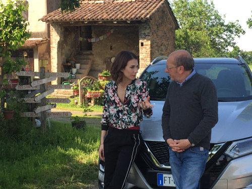 """Michelle Carpente al timone con Dario Vergassola nel programma """"Sei in un paese meraviglioso"""" dal 10 giugno su Sky Arte"""