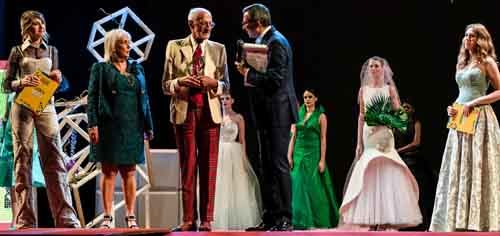 Moda Movie, si conclude in eleganza la 23esima edizione del festival con i meravigliosi abiti di Lorenzo Riva