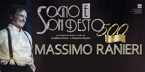"""Massimo Ranieri """"Sogno e son desto 500 volte"""", un nuovo emozionante viaggio nei grandi teatri italiani"""