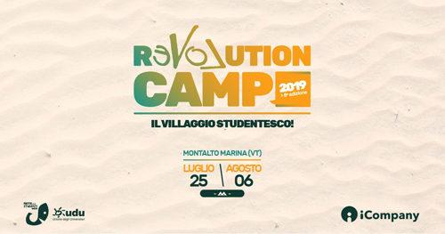 Revolution Camp 2019: torna il villaggio studentesco più grande d'Italia