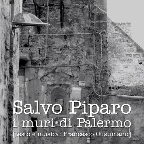 """Esordio in musica per Salvo Piparo omaggio alla città con """"I muri di Palermo"""""""