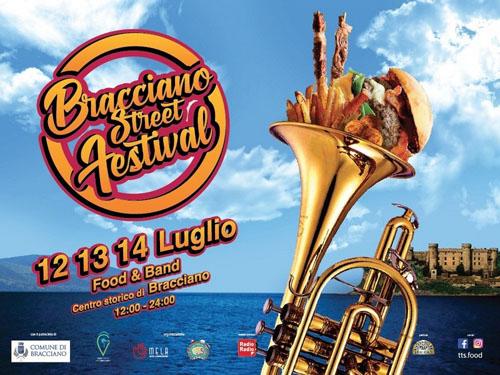 Il Festival Street Food sbarca a Bracciano dal 12 al 14 luglio