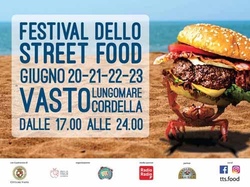 Festival Street Food approda a Vasto dal 20 al 23 giugno