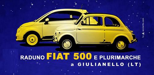 A Giulianello il X Raduno Cinquecento e Plurimarche