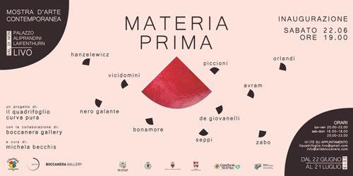 MATERIA PRIMA, dialogo di pittura, scultura, installazioni e fotografia visitabile al Palazzo Aliprandini Laifenthurn di Livo, cuore della Val di Non