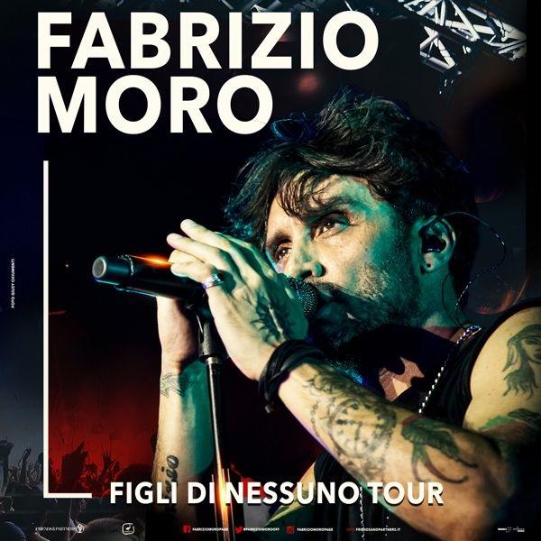 Fabrizio Moro, da novembre in tour in tutta Italia! Biglietti in prevendita