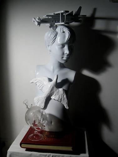Il 2019 è l'anno di Leonardo da Vinci, Francesco Guadagnuolo lo celebra con una scultura a Rocca Massima