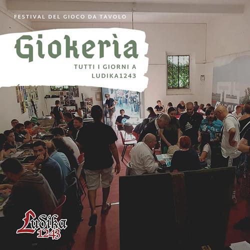 Ludika1243 presente Giokeria, al via il programma della seconda settimana