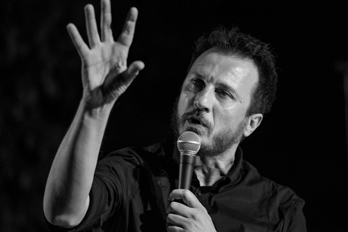 Giorgio Montanini Live sul palco del Lunga Vita Festival