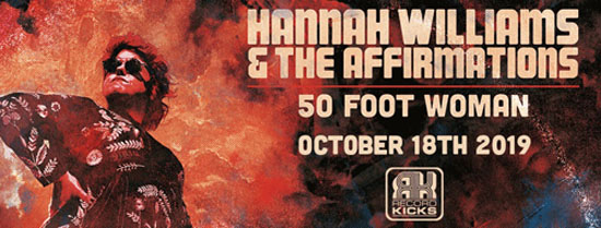 "Hannah Williams torna con il nuovo album ""50 Foot Woman"""